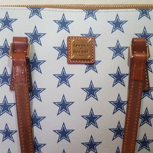 Dallas Cowboys Dooney & Bourke tote NWT
